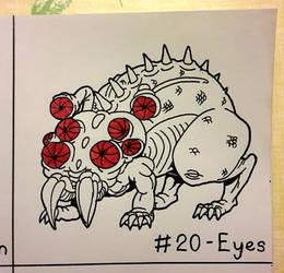 Goretober 2020 - 20 - Eyes