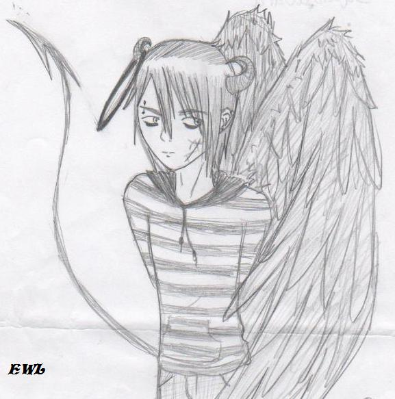 Fallen angel2 by emo wolf love on deviantart fallen angel2 by emo wolf love thecheapjerseys Image collections