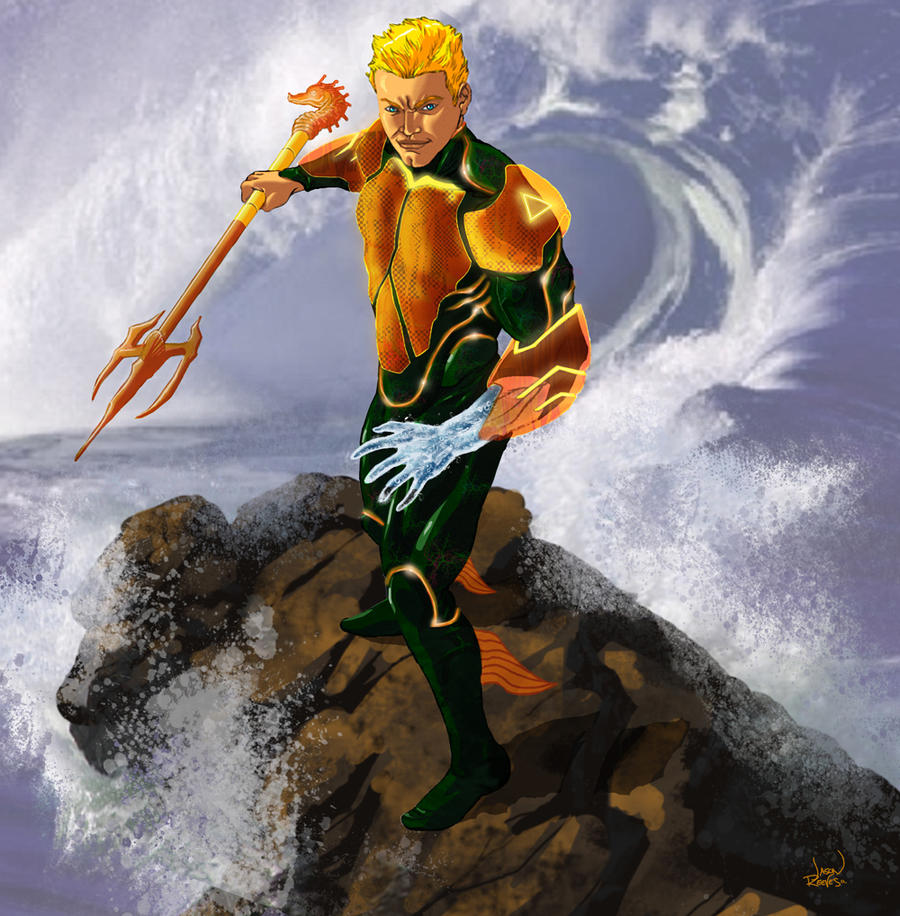 Aquaman by 133art