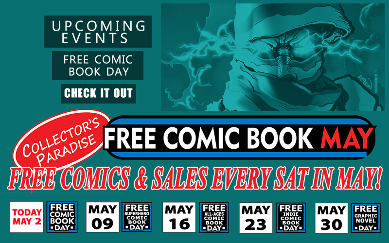 Free Comic Book Day!!! by 133art