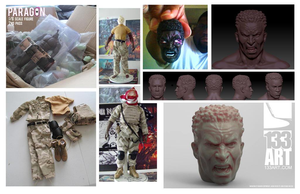 Been Sculpting pt2 by 133art