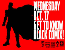 the Get to Know Black Comix Inktober Giveaway! by 133art