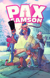 Talking Pax Samson at Comic-Con@Home 2021