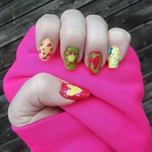 Spring-Inspired Nail Designs -- Noob Nail Art