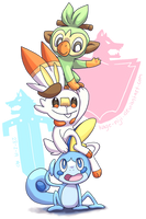 Pokemon Sword and Shield! by kage-niji