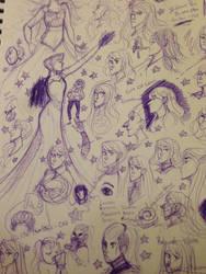 Purple by Birdalee