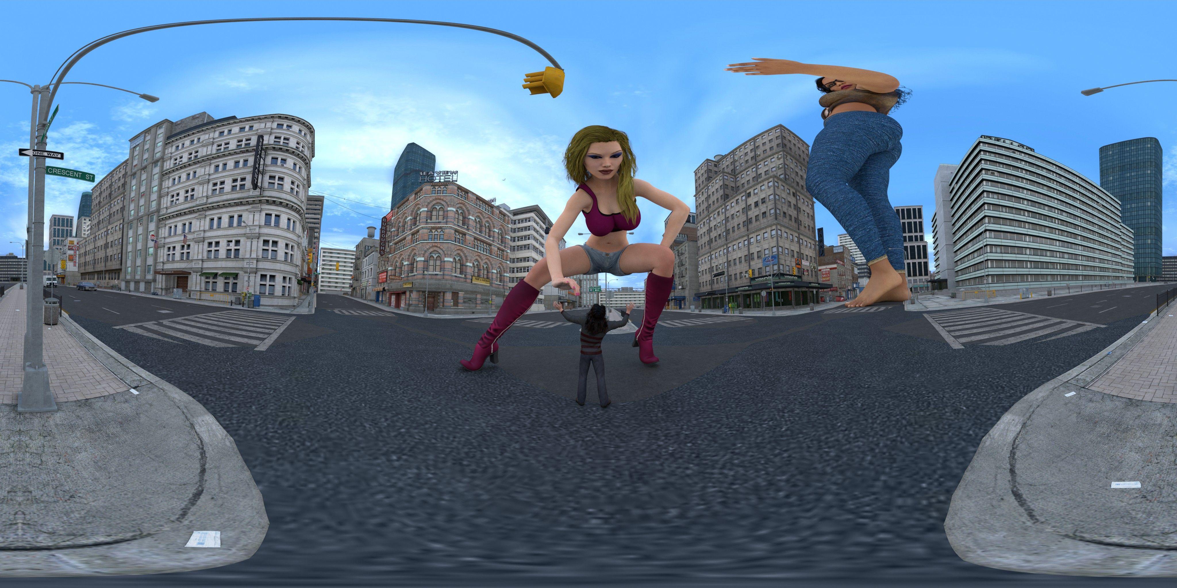 vr giantess game
