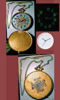 Alice in Wonderland - Pocket Watch / Wall Clock