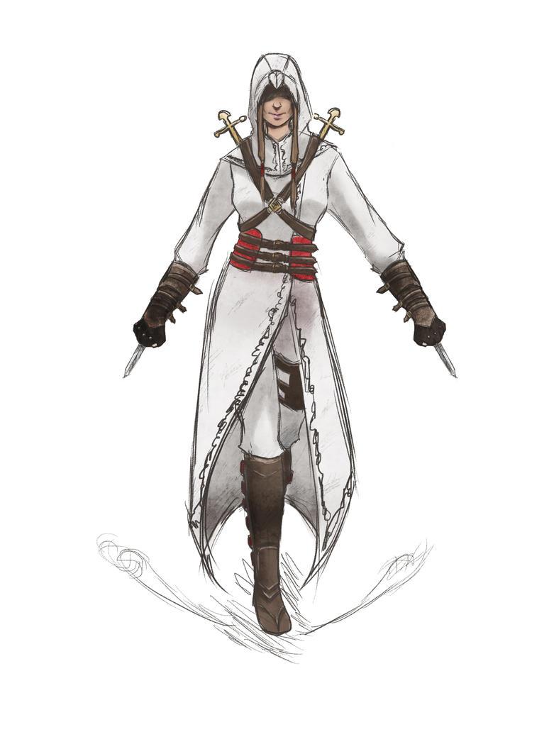 Female Assassin Drawing | www.imgkid.com - The Image Kid ...