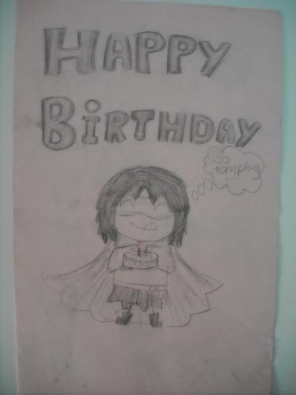 Happy Birthday Card By Michi Luv Anime On Deviantart