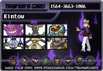 My trainer card!