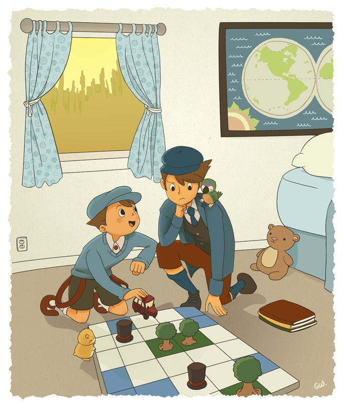 a fine day for puzzles by kelvarin