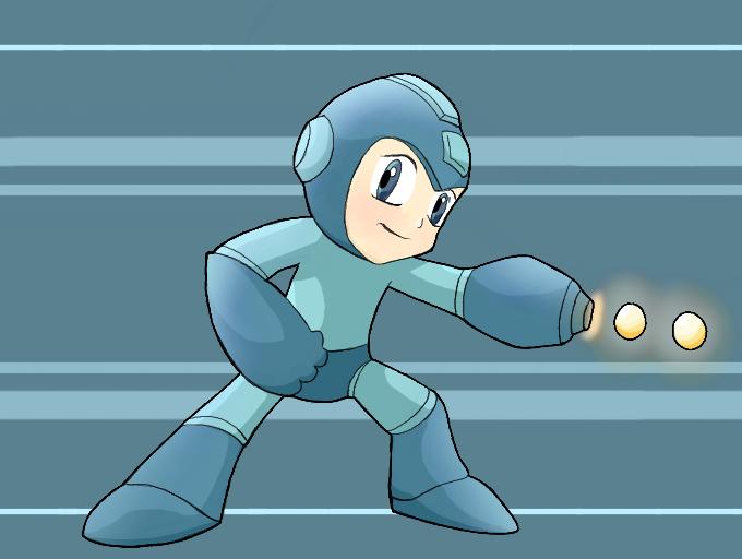 Mega Man by BoshyPastrana