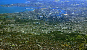 Melbourne from SKY 2