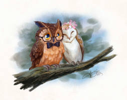 Owlies by Stardust-Thief