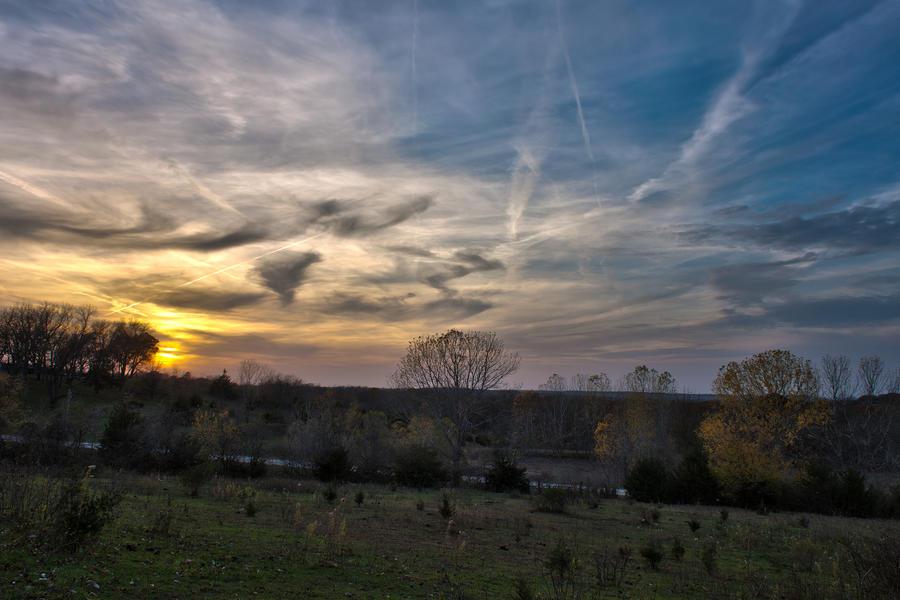 Chippewa Sunset by lordofthestrings86