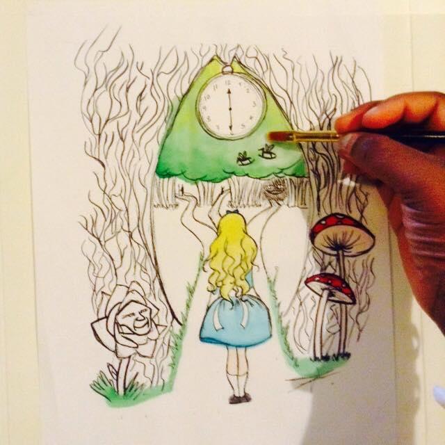 Alice in Wanderland by alys2