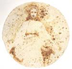 Virgin Mary on a tortilla