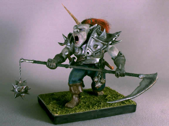 Ogre maquette by TimBakerFX