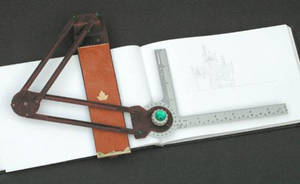 Drafting arm for sketchbook by TimBakerFX