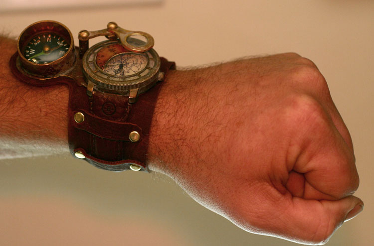 Steampunk Watch two by TimBakerFX on DeviantArt