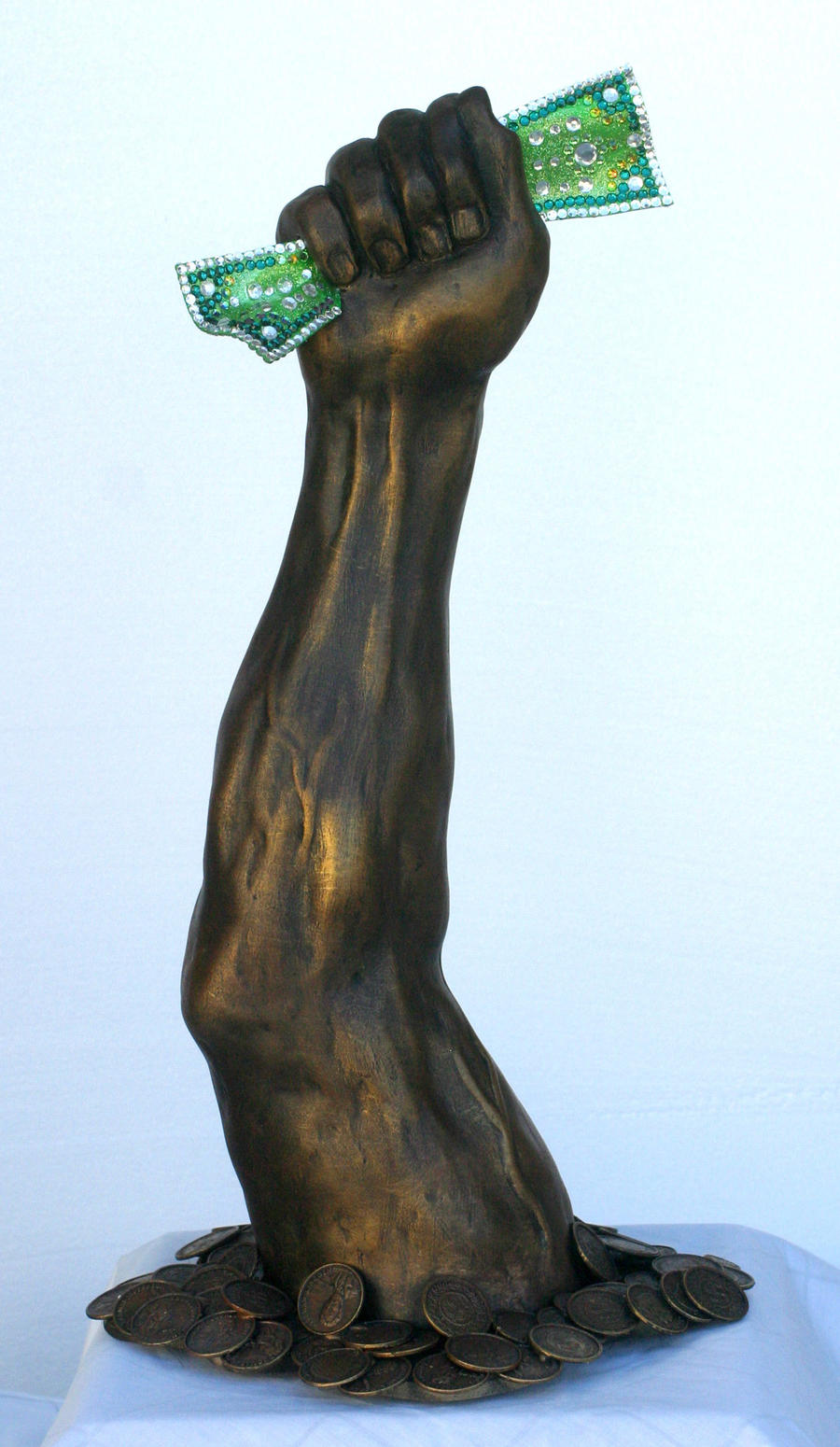 The Arm of capitalism by TimBakerFX