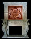 Fire place unit sculpt