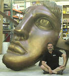 Statue of Liberty head for ABC's Castle
