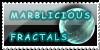 Marblicious Fractals Logo1 by hallv5