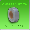 Created With Duct Tape Stamp by hallv5