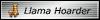 Llama Hoarder lil Badge by hallv5
