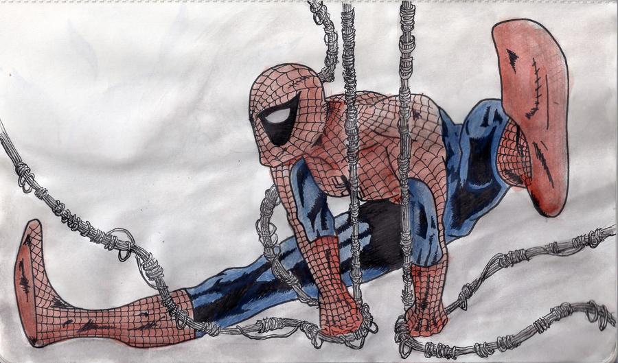 Spiderman by xanderw