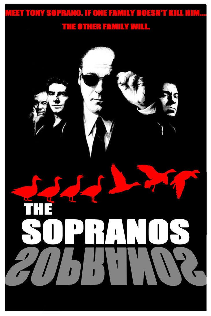 the sopranos 1 poster 2 by dariopc17 on deviantart