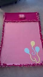 Pinkie Pie no sew blanket by egyptianthief