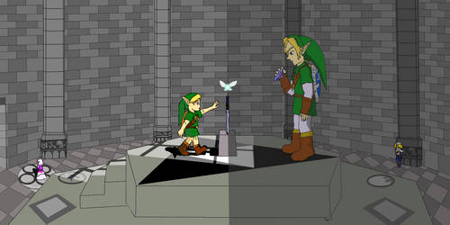 Ocarina of Time: Two Paths