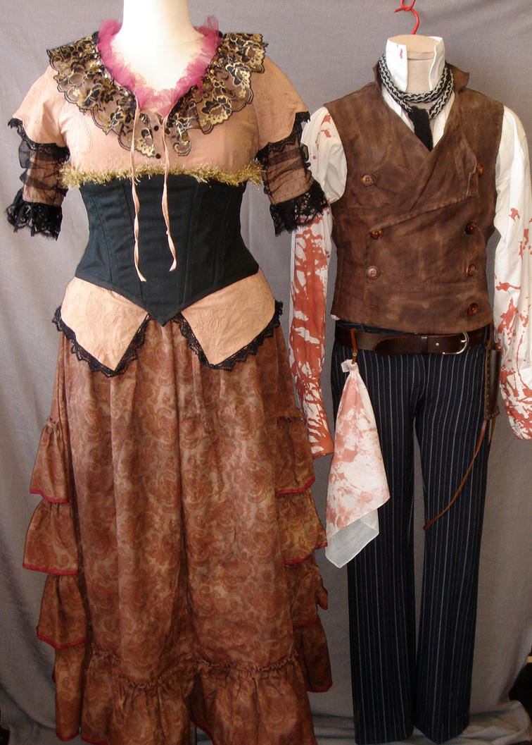 Mrs Lovett + Sweeney costumes by acosplaylifeforme