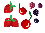 Pixel Resource - Berries by theWeaverofTales