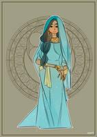 disney princess: Jasmin by eszart