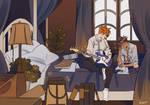 ravenclaw dorms [commission]