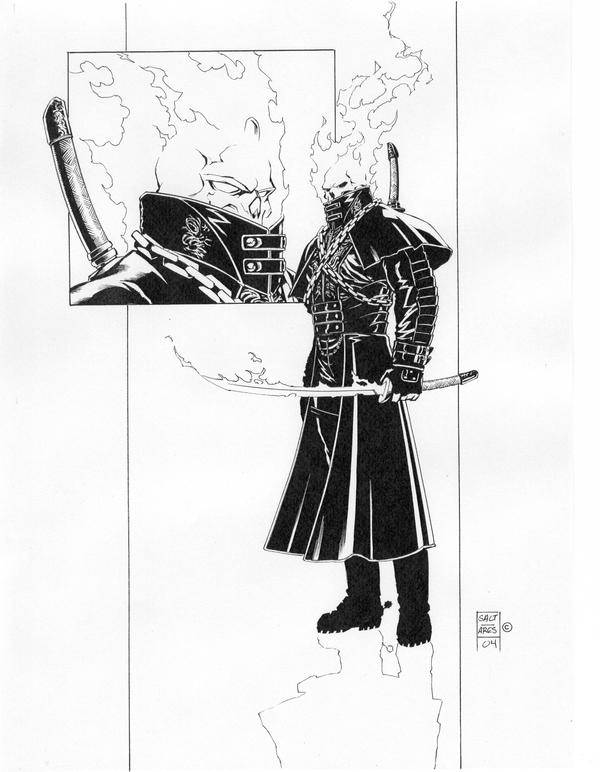 new ghost rider concept by saltares