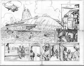 'Joe' page from iss. 04 by saltares