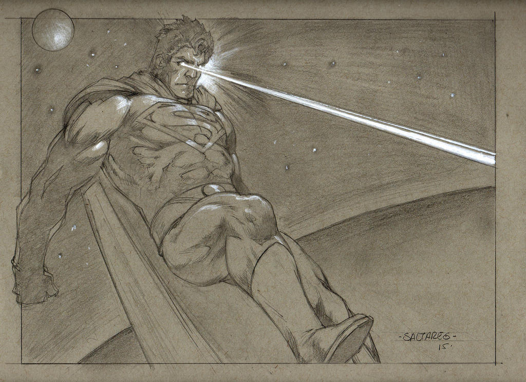 SUPERMAN by saltares