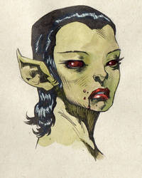Alien Vampire ? by saltares