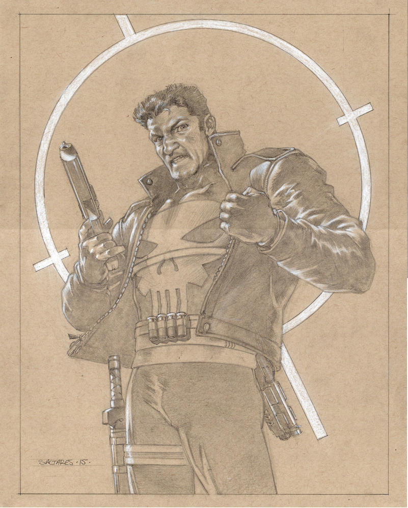 Jon Bernthal PUNISHER by saltares