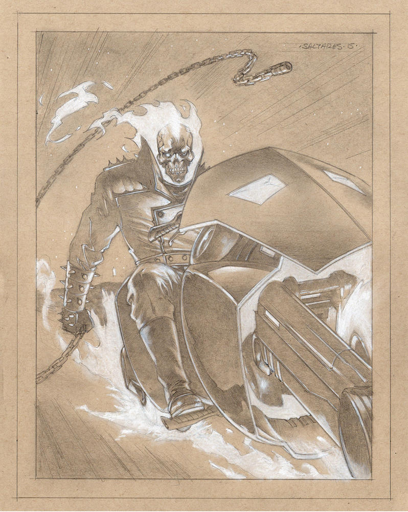GHOST RIDER again by saltares