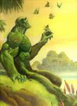 Swamp Thing Commish