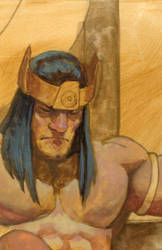 WIP for CONAN by saltares