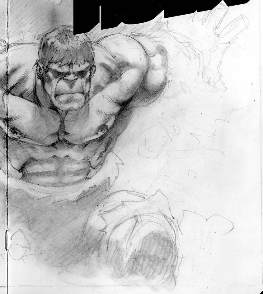 Hulk wip by saltares