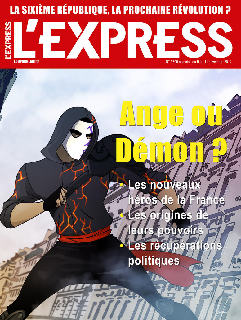 L'EXPRESS fake cover by Sebs-DA