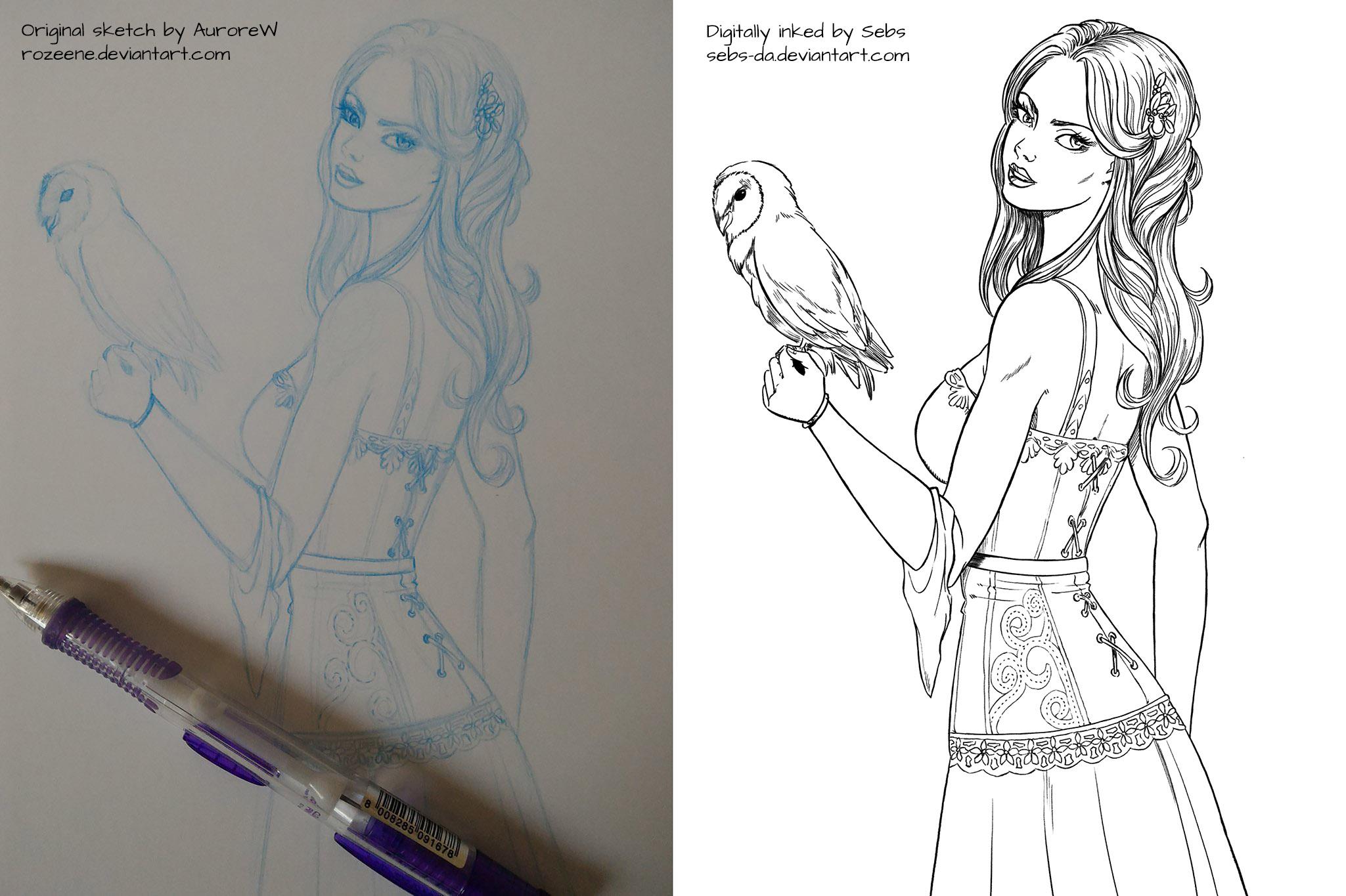 Ink with AuroreW by Sebs-DA